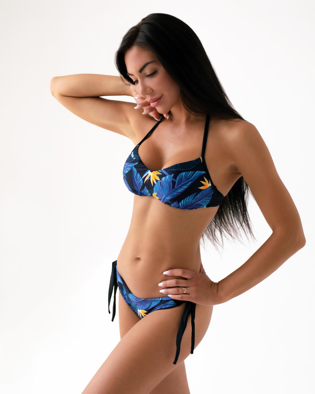 Спортивный топ Nebbia Earth Powered bikini - top 556 Tr.Blue