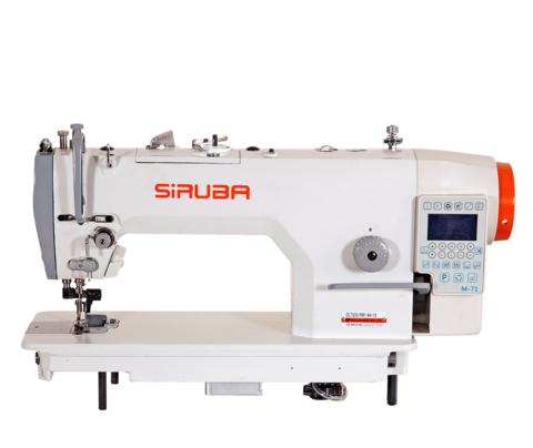 Высокоскоростная  прямострочная одноигольная швейная машина с обрезкой края материала Siruba DL7300-RM1-64-16   Soliy.com.ua