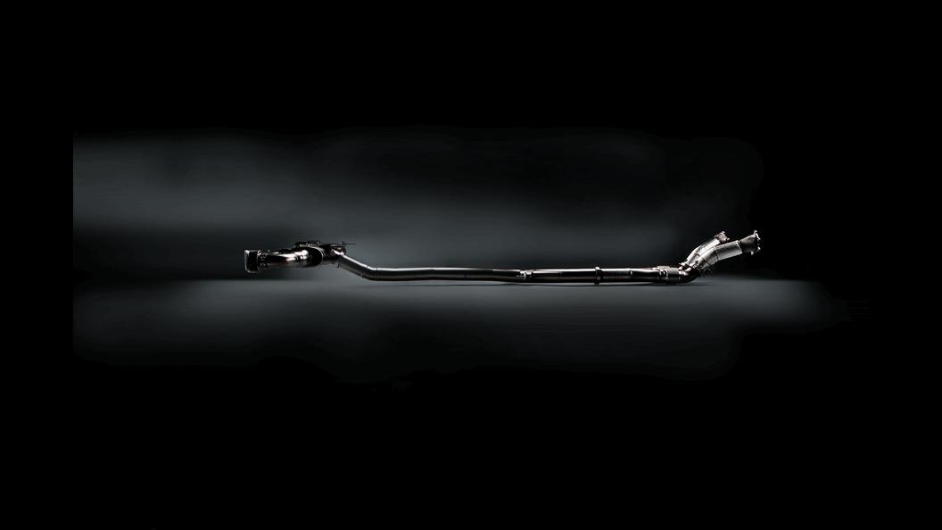 Выхлопная система AKRAPOVIC для Nissan R35 GT-R