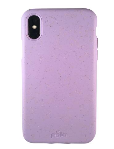 Чехол для телефона Pela iPhone XS Max сиреневый