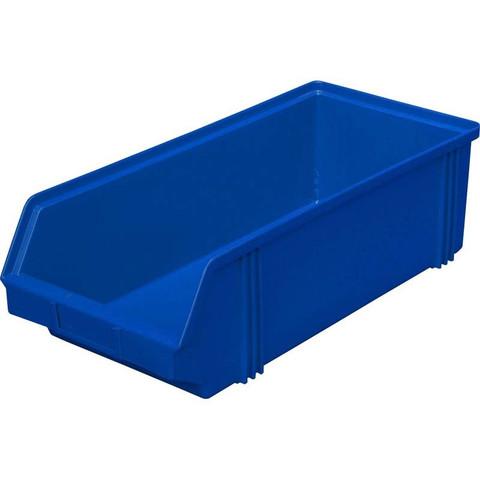 Ящик (лоток) универсальный полипропиленовый 500x230x150 мм синий