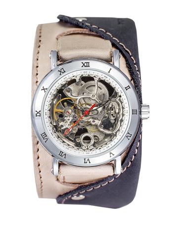 Часы скелетоны мужские механические Martini 2.0 YOURTIME