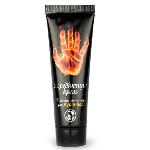 Крем согревающий для рук и ног