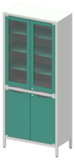 Шкаф лабораторный ШКа-2 АйЛаб Organizer (вариант 2)