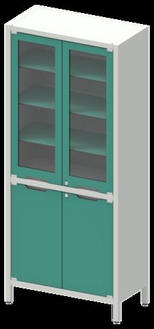 Шкаф лабораторный ШКа-2 АйЛаб Organizer (вариант 2) - фото