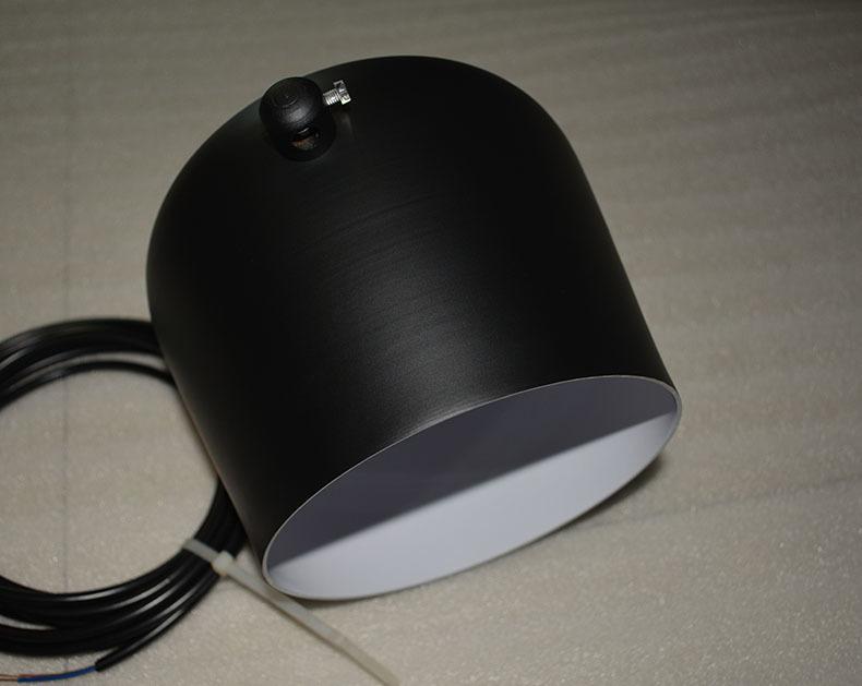 Подвесной светильник копия AIM by Flos (1 плафон, черный)