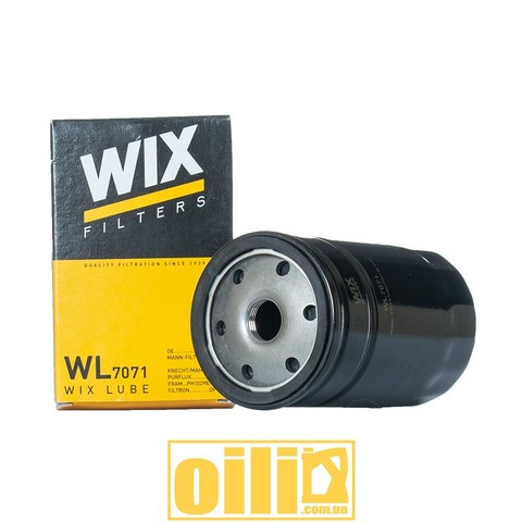 Фільтр масляний WIX WL7071 (BMW, Audi,Volkswagen, Seat, Skoda)
