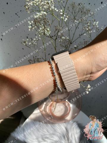 Ремешок Apple watch 42/44mm Leather Loop /stone/