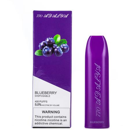 Одноразовая электронная сигарета Adalya Blueberry 5% 400 затяжек