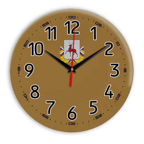 Интерьерные часы герб Нижний Новгород 11