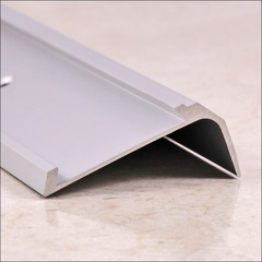 Алюминиевый угловой порог ПО 38х23 (матовый)