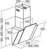Вытяжка Cata Podium 500 XGBK схема