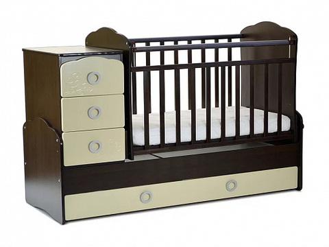 Кровать детская СКВ-9 Птички