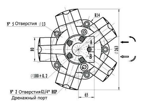 Гидромотор IPM2-175