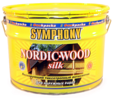 SYMPHONY NORDIC-WOOD Silk - лессирующий тиксотропный антисептик