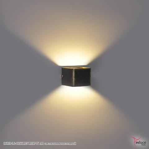 86818-9.2-001TLFS LED7W AB светильник настенный