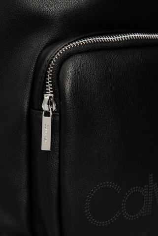 Мужской черный рюкзак PUNCHED ROUND Calvin Klein