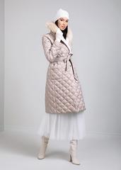 Пальто пуховое Naumi 1719 quartz
