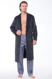 Велюровый мужской халат B&B