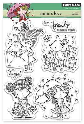 Набор штампов  Mimi's Love