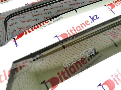 Дефлекторы боковых стекол (ветровики) Лада XRAY