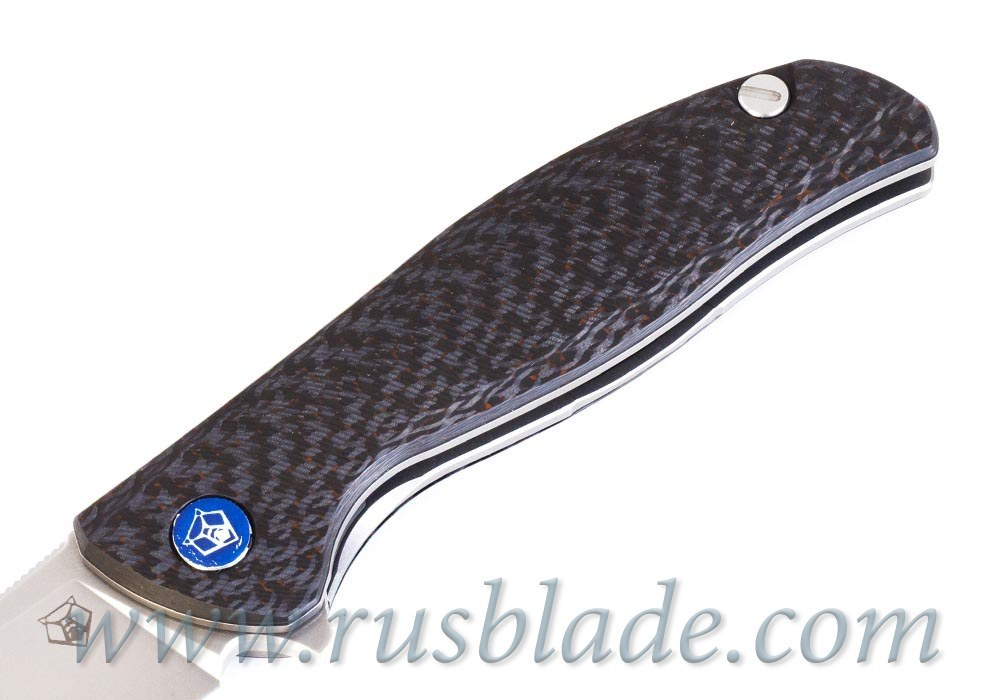 Shirogorov F3 M390 Exclusive Orange CF MRBS - фотография