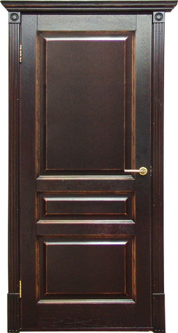 Дверь Халес Лондон (тоскана, глухая, массив хвойных пород)