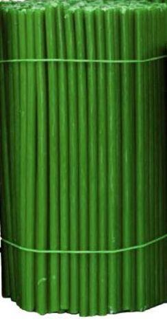 Свечи №100 зеленые