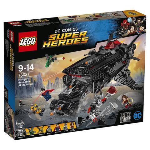 LEGO Super Heroes: Лига Справедливости: Нападение с воздуха 76087 — Flying Fox: Batmobile Airlift Attack — Лего Супергерои ДиСи
