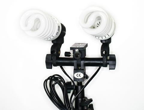Ламповый держатель с  лампами Phottix Photography Studio Continuous Lighting with 2x38w Bulds