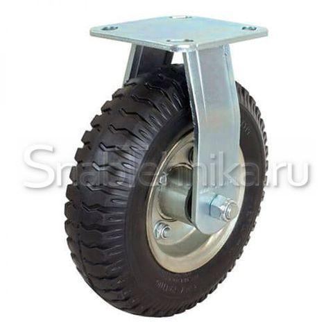 Пневматическая неповоротная колесная опора FC 210 (колесо пневматическое камерное).