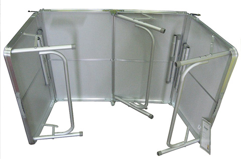 Стол складной Canadian Camper CC-TA483, вид изнутри.