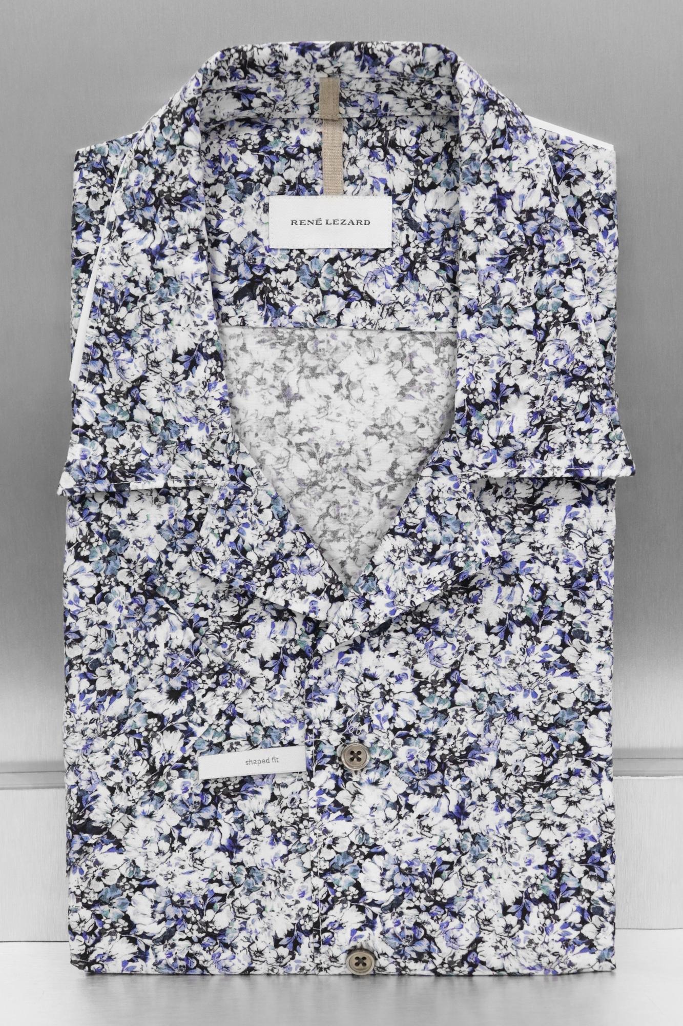 RENE LEZARD Рубашка в цветы