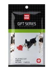 Конструктор Wisehawk Играющая кошка 114 деталей NO. B45 Playing cat Gift Series