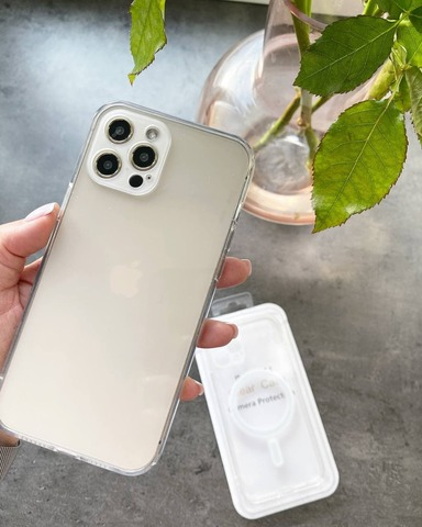 Чехол iPhone 12 Pro /6,1''/ Clear Case Full Camera with MagSafe