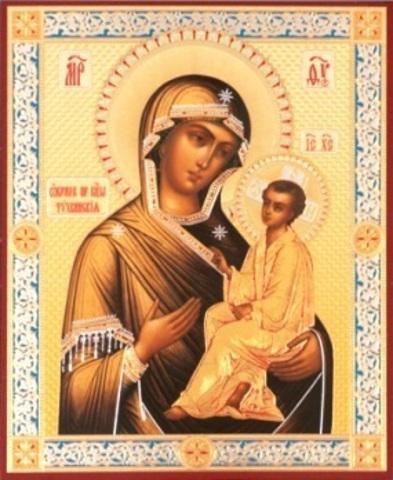 Икона Божией Матери Тихвинская 2