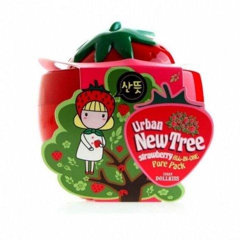 Baviphat New Tree Strawberry All-In-One Pore Pack маска-скраб с экстрактом клубники для очищения пор