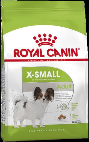 X-Small Adult - для собак миниатюрных размеров от 10 месяцев до 8 лет