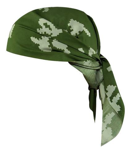 Бандана березка зеленая