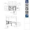 Встраиваемый смеситель для раковины ALEXIA 362101 - фото №3