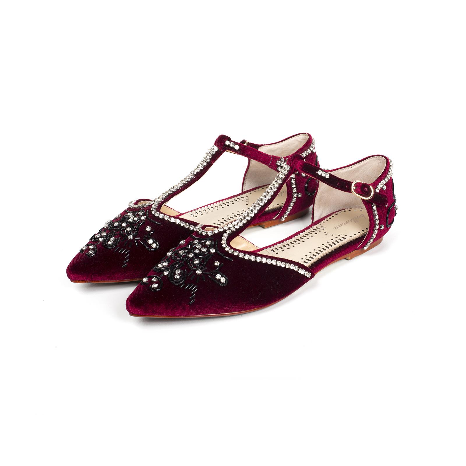 Туфли, Ballerina, Margaret (марсала)
