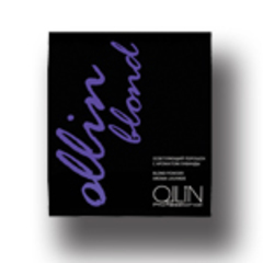OLLIN blond осветляющий порошок с ароматом лаванды 30г саше/ blond powder aroma lavande