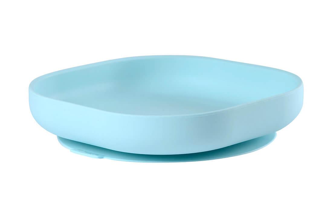 Тарелка из силикона Beaba Silicone suction plate