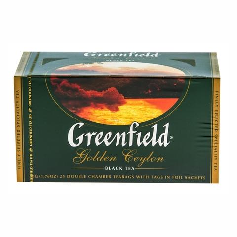 Чай GREENFIELD Golden Ceylon 25*2 г п/пак РОССИЯ