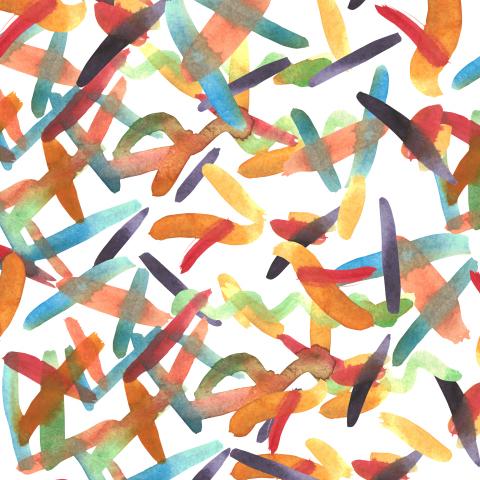 Цветные штрихи