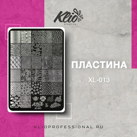 ПЛАСТИНА ДЛЯ СТЕМПИНГА KLIO PROFESSIONAL XL-013