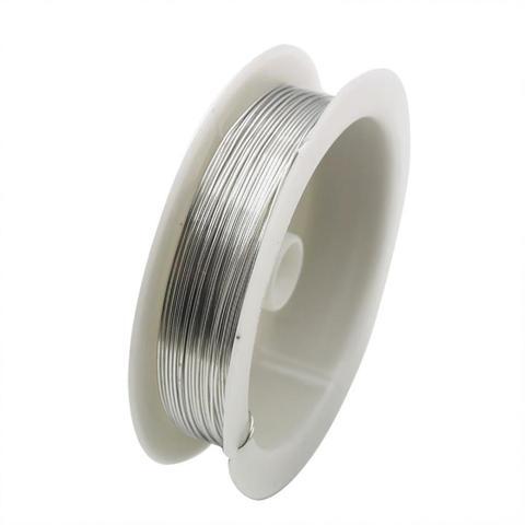 Медная проволока 0.33 мм. Цвет: Серебро