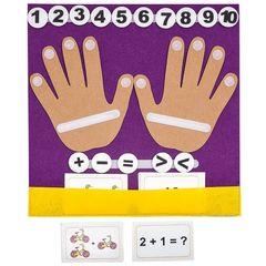 коврик-считалка Пальчики, Smile Decor Ф278