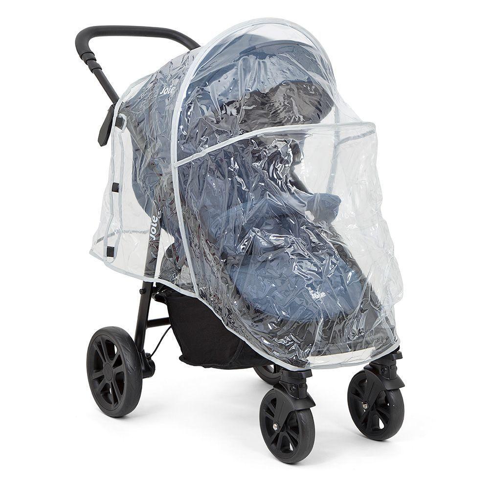 Коляска детская JOIE Litetrax 4 DLX Gray Flannel