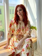 Платье из французской вискозы